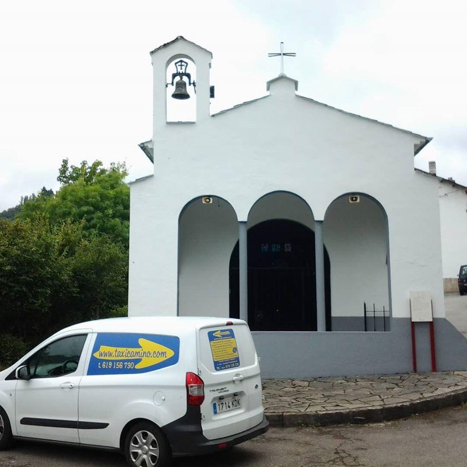 Iglesia en el Camino Primitivo