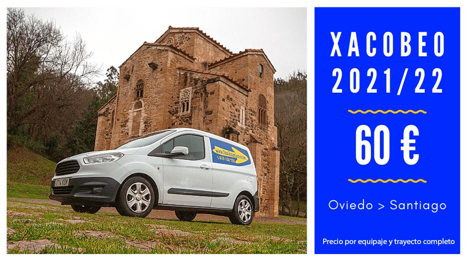 Promoción Xacobeo 2021: trayecto completo por 60 euros